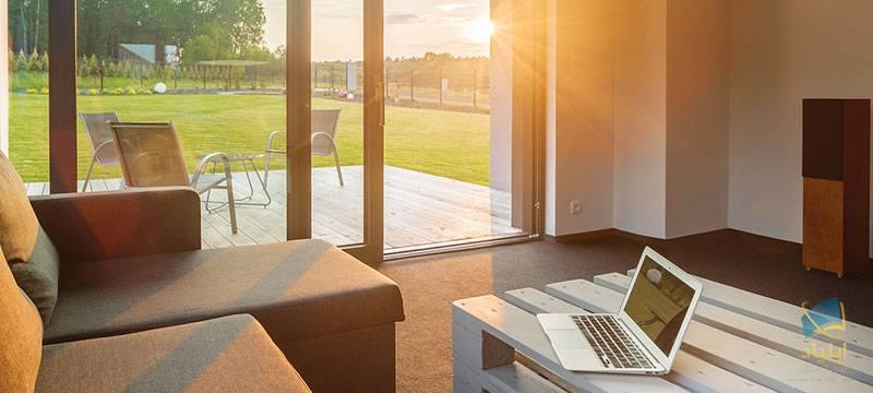 کاری که نور خورشید با خانهی شما میکند.