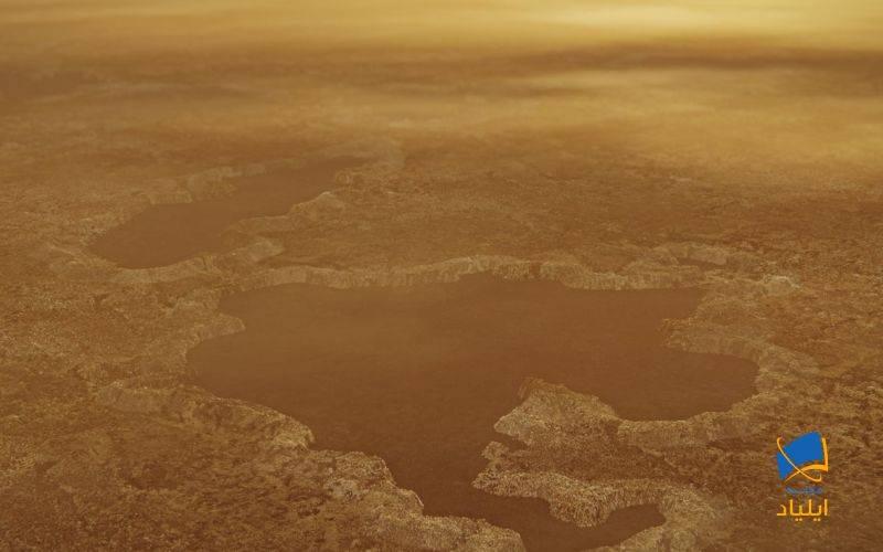 دریاچههای تیتان چگونه ایجاد شدهاند؟
