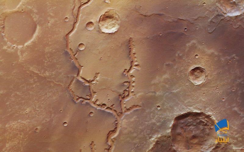 نشانههای وجود آب در مریخ