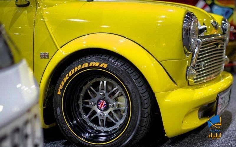 یوکوهاما تایرهای کلاسیک تولید می کند