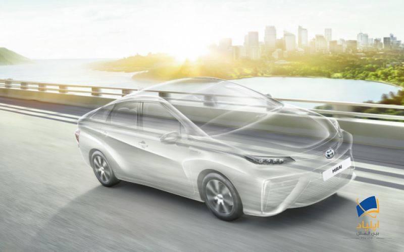 تویوتا اتومبیلی با سوخت هیدروژنی تولید میکند