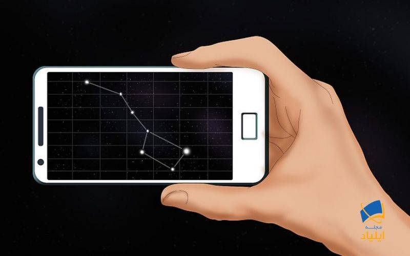 یافتن ستاره قطبی با تکنولوژی