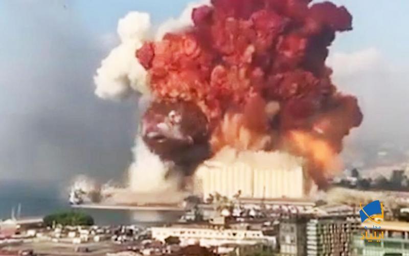 قدرت انفجار بیروت چقدر بوده است؟