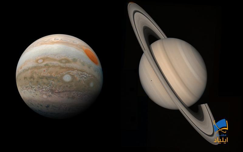 محل تولد سیارات مشتری و زحل کجاست؟