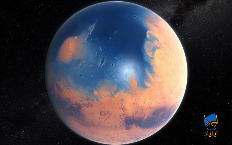 چه چیزی باعث از بین رفتن آب بر روی مریخ شده است؟