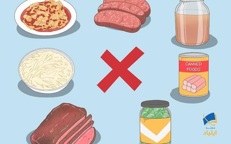غذاهایی که باید از آنها اجتناب کنید