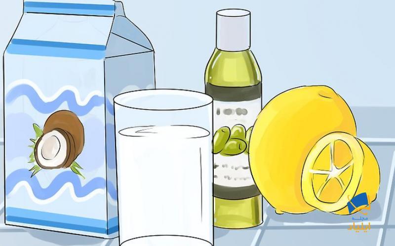 موهای خود را با ماسک شیر نارگیل صاف کنید