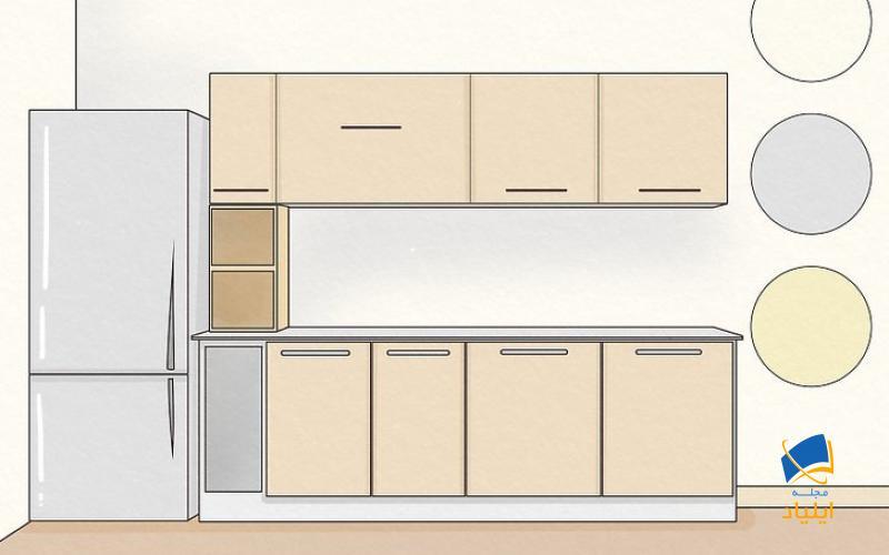 چطور آشپزخانه بزرگتر و روشنتر به نظر برسد؟