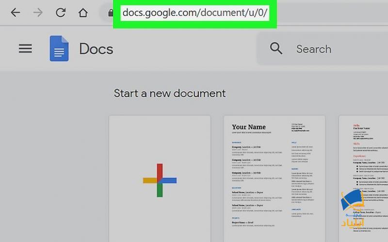 استفاده از Google Docs