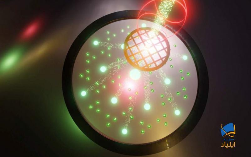 تغییر ساختاری مواد در اثر تابش نور