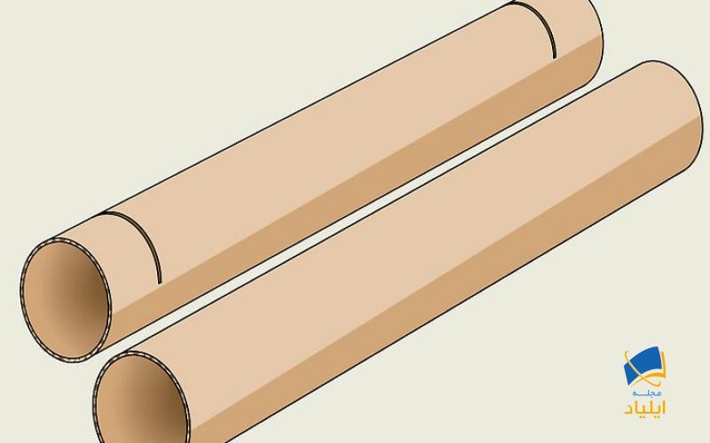 یک لولهی استوانهای دیگر بسازید