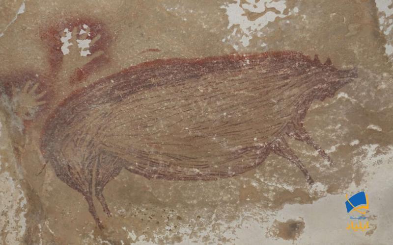 کشف قدیمیترین نقاشی که توسط انسان کشیده شده است