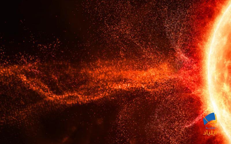 منشاء ذرات پُرانرژی خورشید کجاست؟