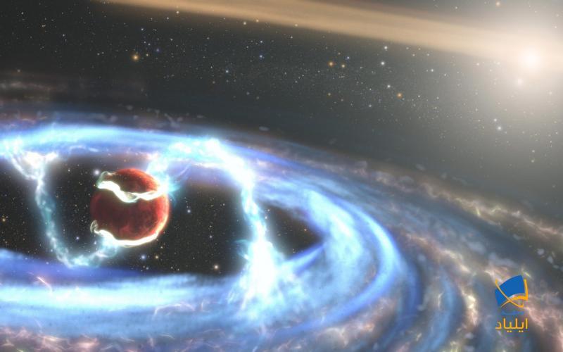 هابل تشکیل یک سیارهی دوردست را رصد کرد