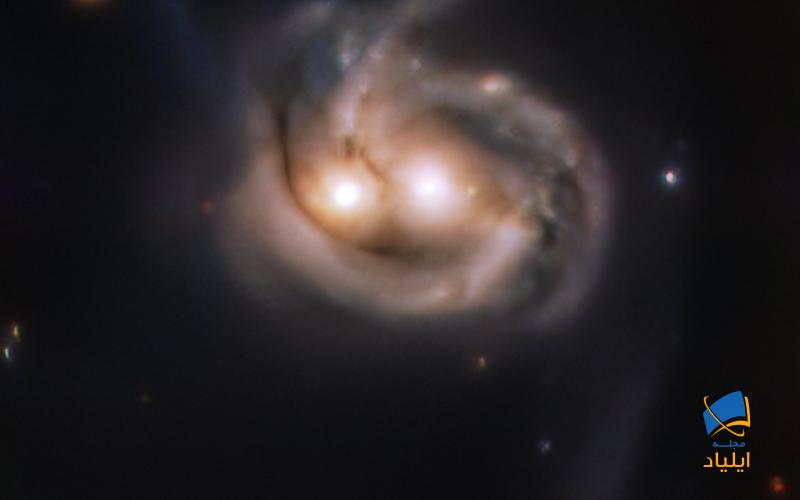 دانشمندان کهکشانی دوستداشتنی را کشف کردند