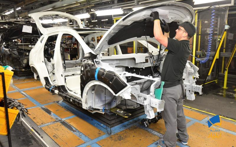 فرآیند تولید اتومبیل چگونه است؟